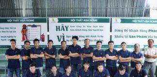 Đội ngũ nhân công lành nghề tại Asa Home