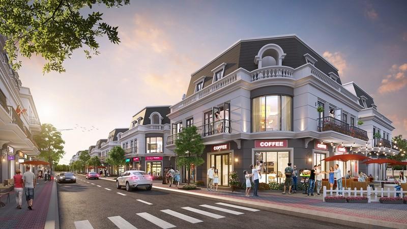 Thiết kế Shophouse bắt mắt