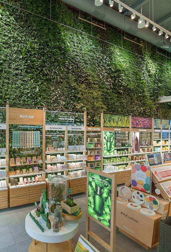 Thiết kế shop Mỹ phẩm đẹp tại Hồ Chí Minh