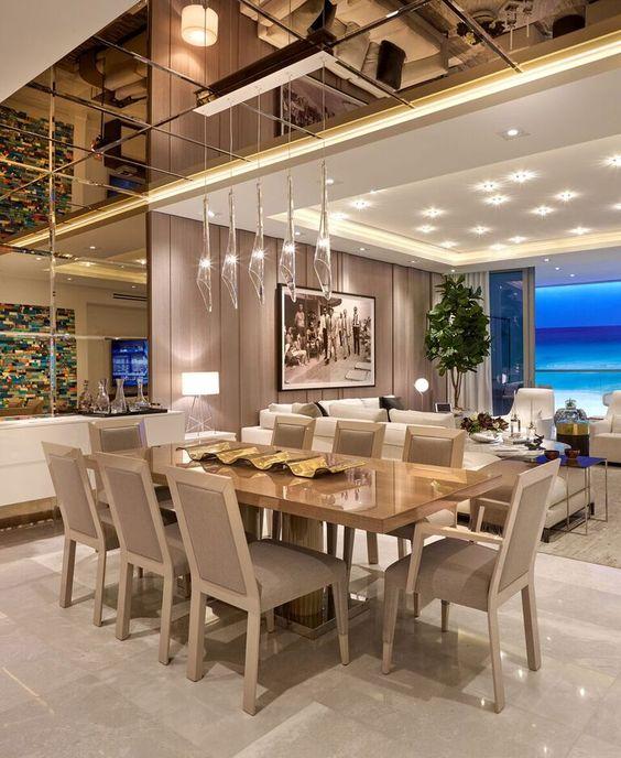 Phòng bếp theo phong cách thiết kế nội thất Luxury
