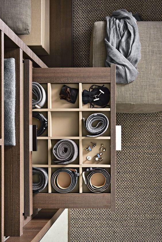 Phòng thay quần áo theo phong cách thiết kế nội thất Luxury