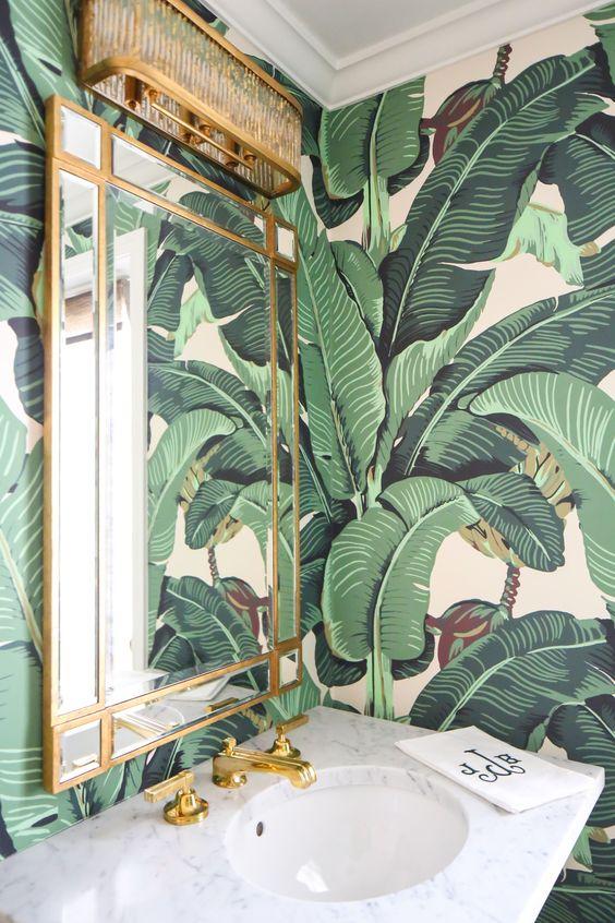 Phòng tắm phong cách Tropical