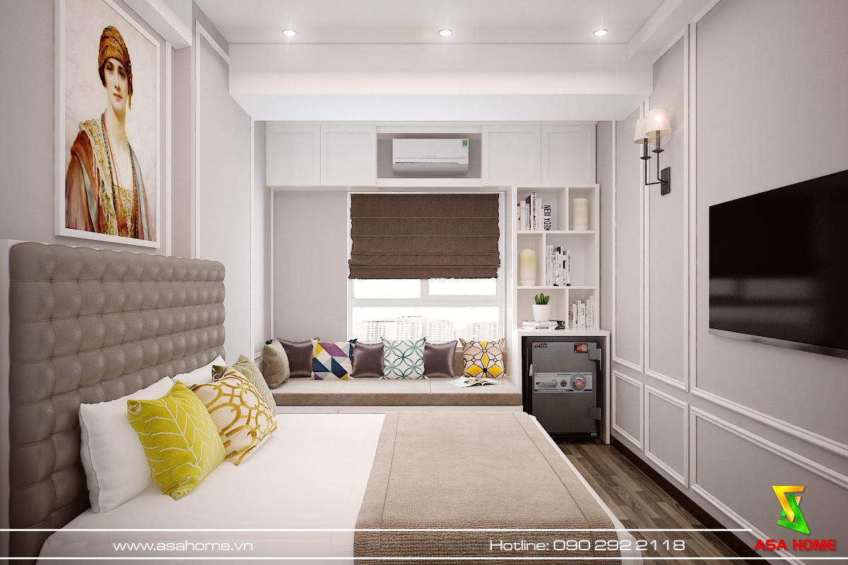 Mọi đồ nội thất đều đươc thiết kế để tối ưu không gian