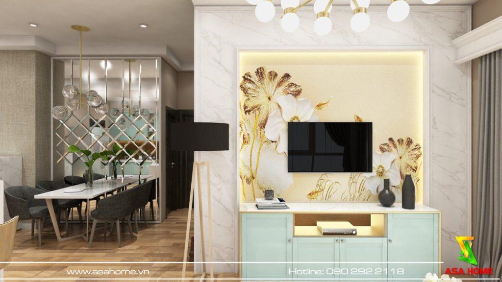 Thiết kế nội thất căn hộ Dockland