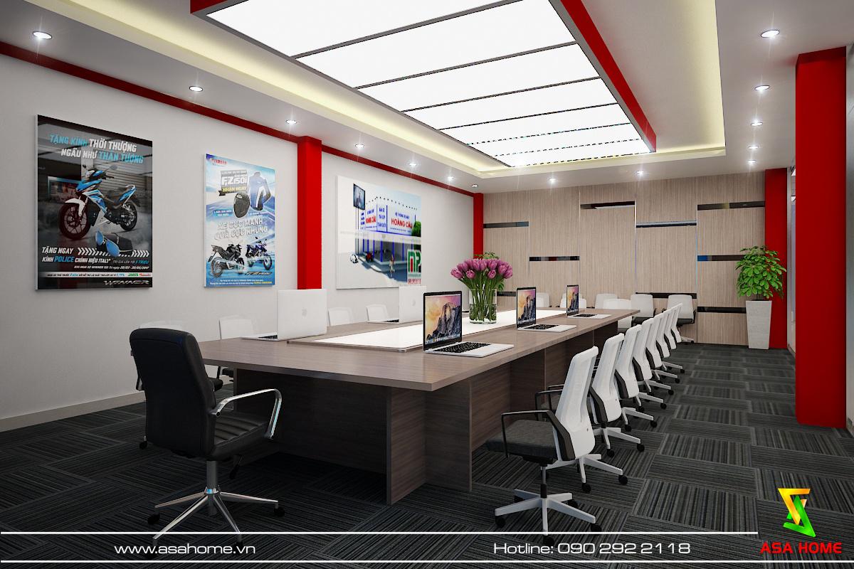 Thiết kế nội thất văn phòng Hoàng Cầu tại Bình Dương