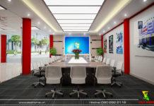 Thiết kế nội thất văn phòng Hoàng Cầu