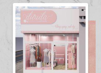 Thiết kế shop thời trang Điệu Đà tại Gò Vấp
