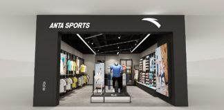 Thiết kế shop thời trang thể thao Anta