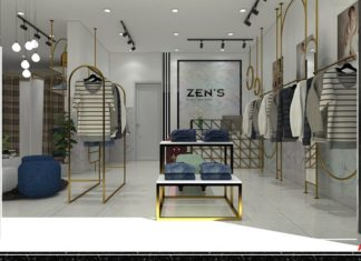 Thiết kế shop thời trang chuẩn