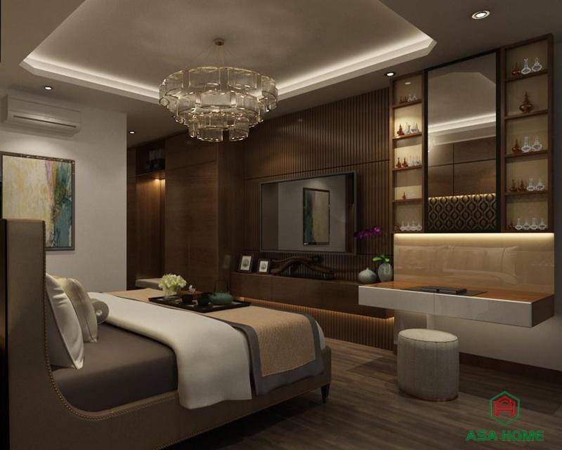 Đăng cấp thiết kế nội thất nhà phố cao cấp