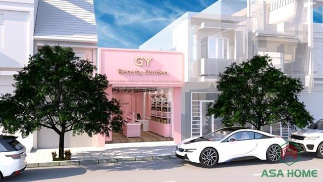 Thiết kế shop mỹ phẩm Gy Shop