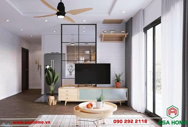 Thiết kế nội thất cho căn hộ chung cư tại Sunshine City Sài Gòn