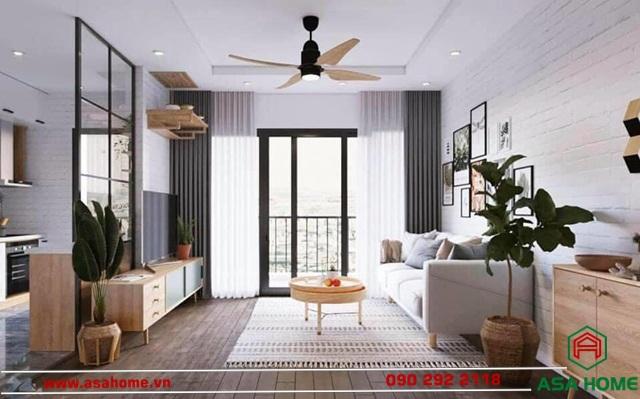 Thiết kế nội thất chung cư toát lên sự sang trọng