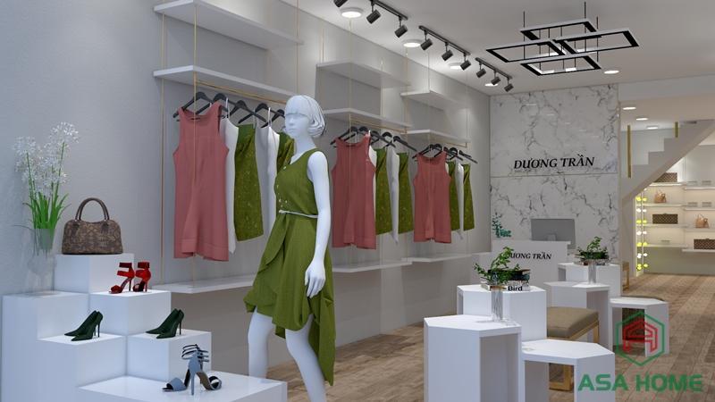 Mẫu thiết kế shop thời trang nữ đẹp