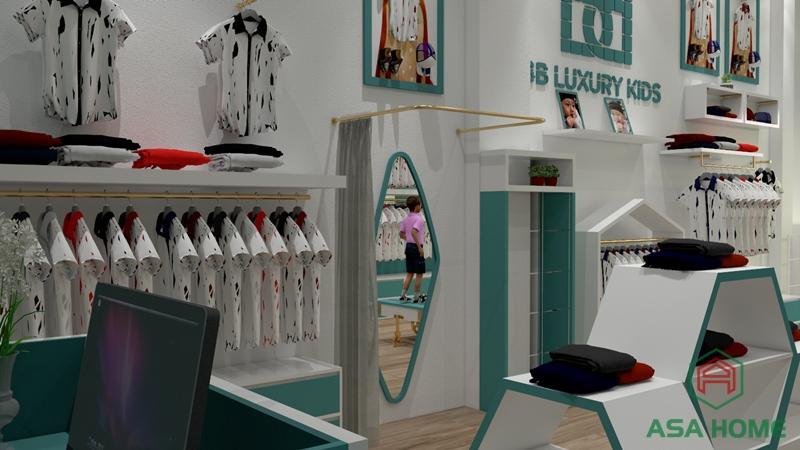 Tạo dấu ấn thương hiệu đẹp với thiết kế shop thời trang