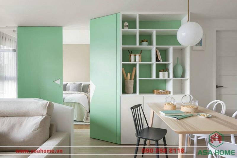 Từ màu sắc đến nội thất đều được thiết kế hài hòa