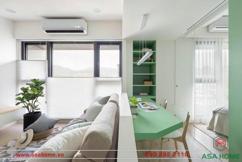 Dự án thiết kế nội thất chung cư đẹp của Asa Home