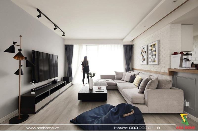 Thiết kế căn hộ hiện đại - ASA015