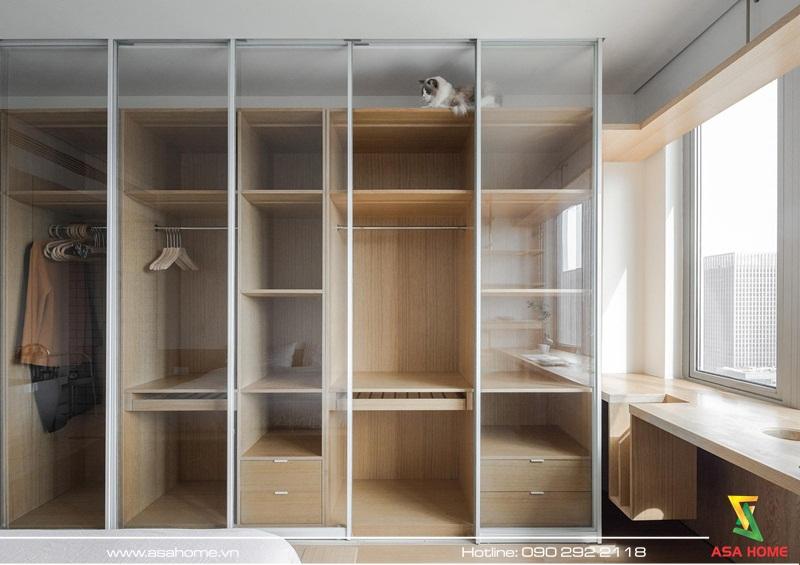Thiết kế nội thất căn hộ hiện đại - ASA012