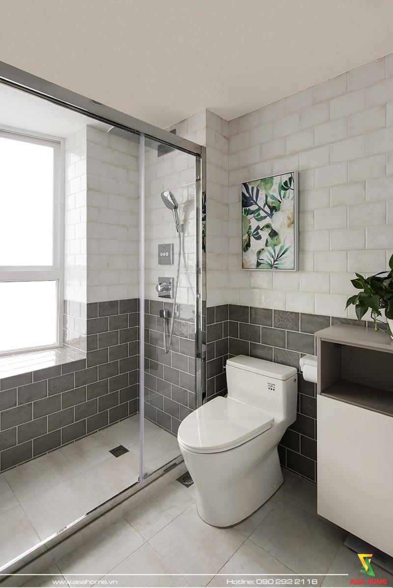 Phòng tắm tiện nghi, sáng tạo