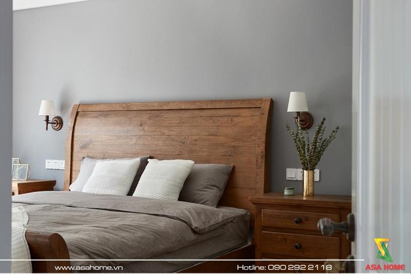 Phòng ngủ sang trọng, ấm áp