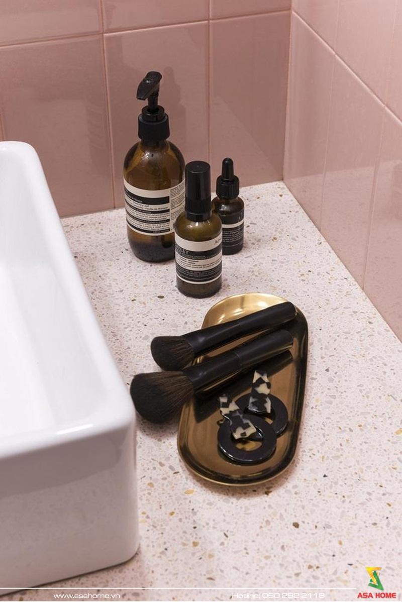 Chi tiết nhỏ xinh xắn trong phòng tắm