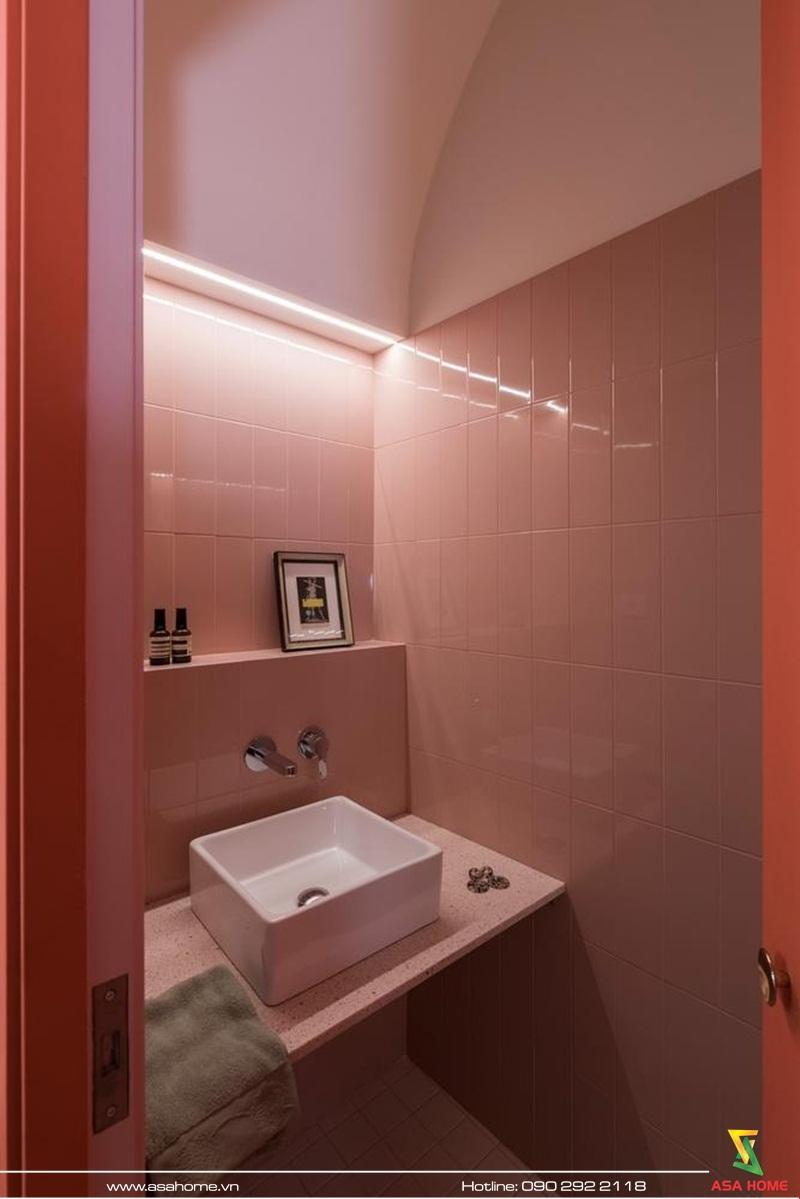 Một góc phòng tắm
