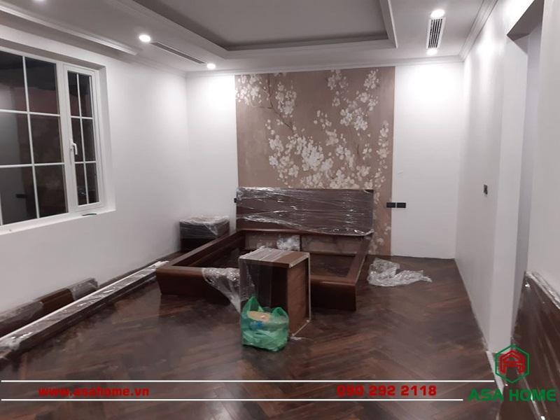 Chuẩn bị nội thất để lắp đặt vào căn hộ