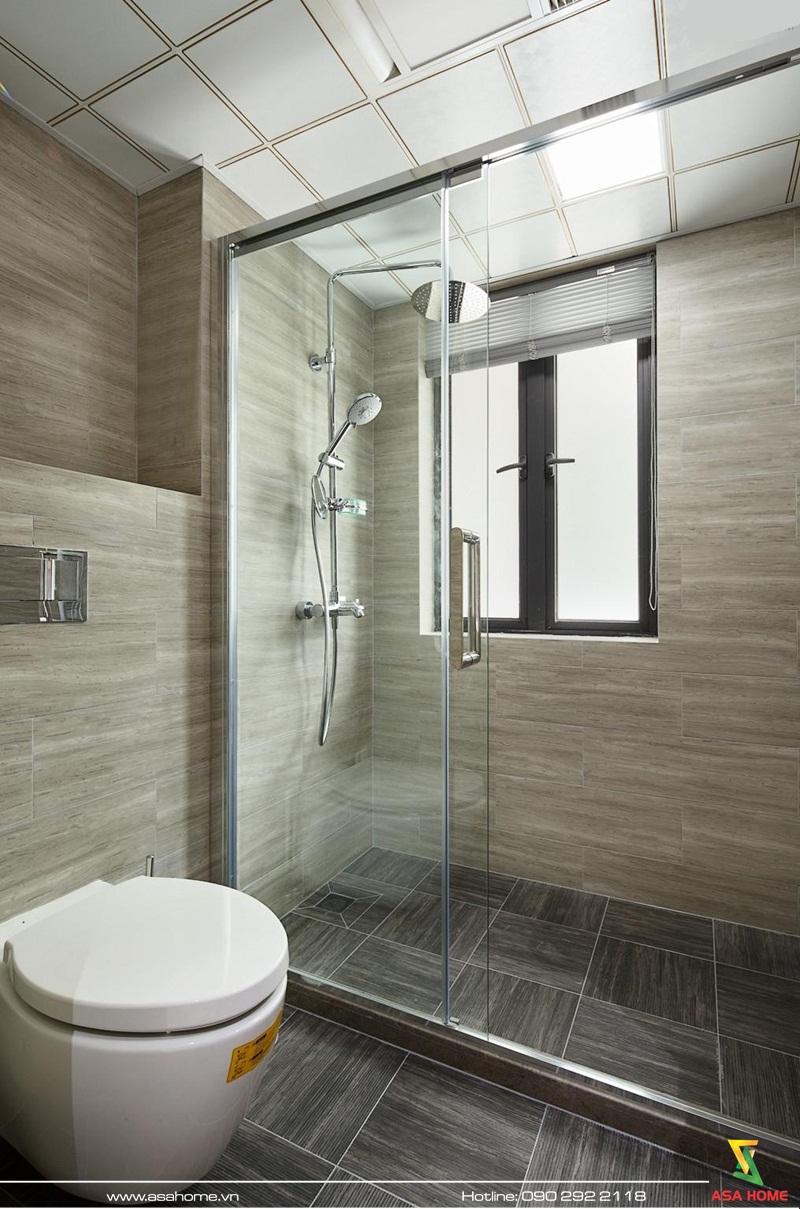 Thiết kế nội thất căn hộ hiện đại - ASA014