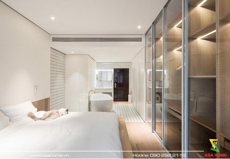 Phòng ngủ tiện nghi, ấn tượng