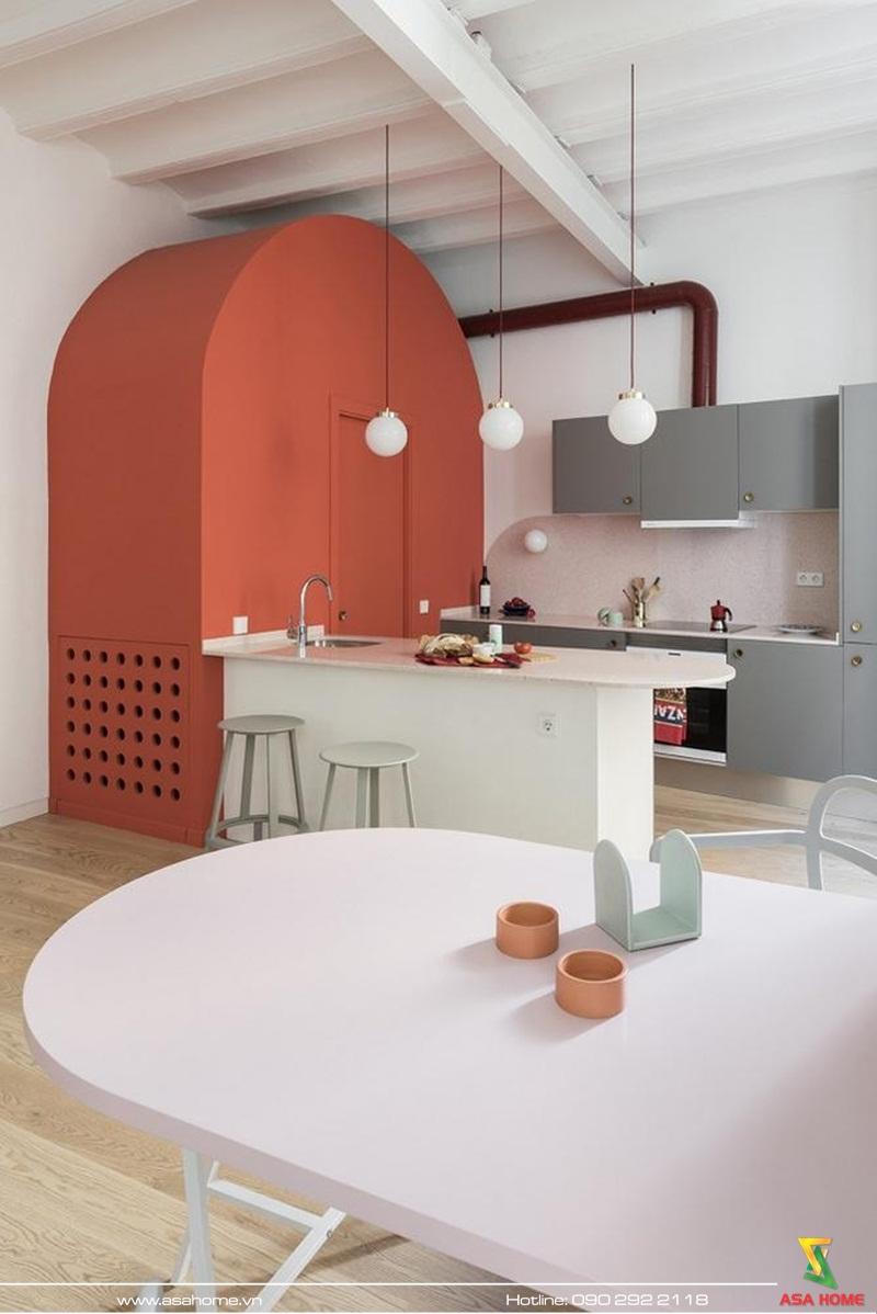 Sáng tạo và tinh tế trong thiết kế không gian bếp