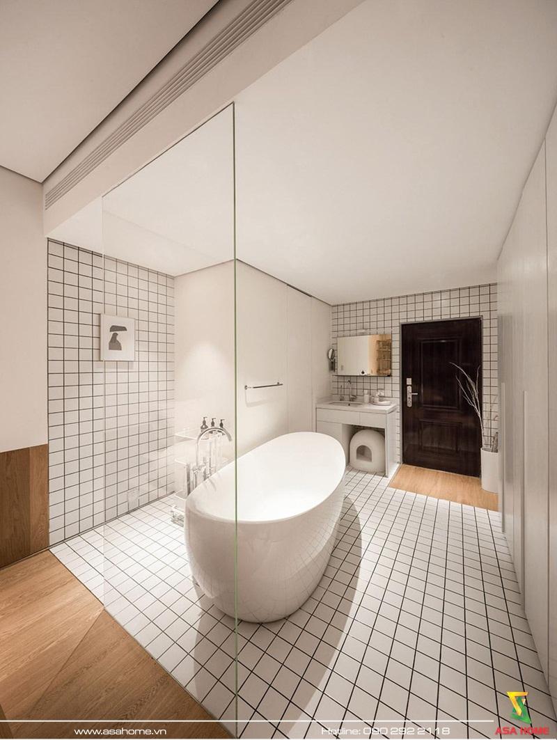 Phòng tắm tiện nghi, sạch sẽ
