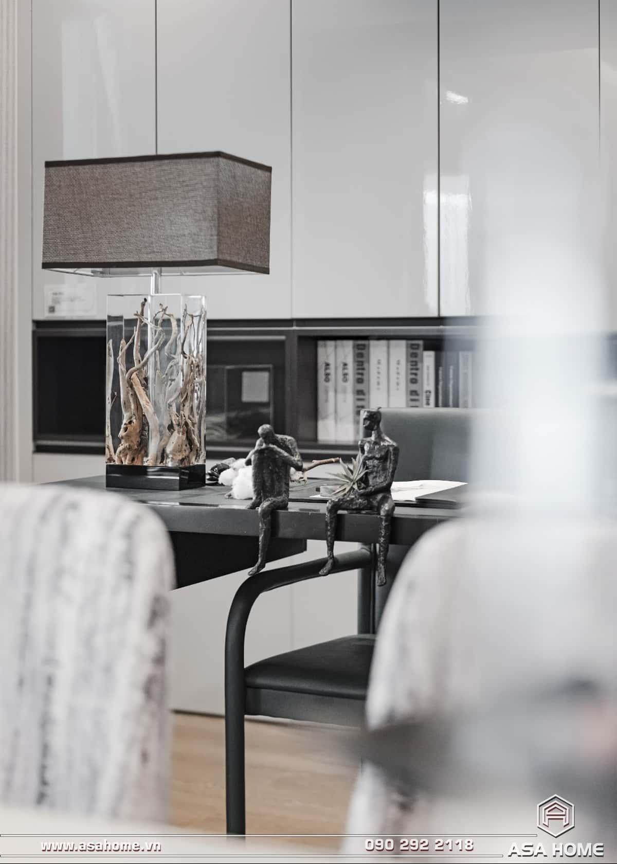 Thiết kế nội thất căn hộ hiện đại - ASA016