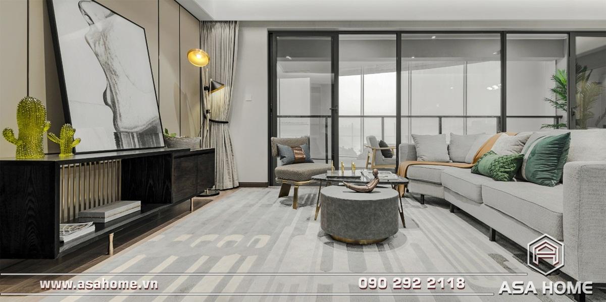 Thiết kế căn hộ hiện đại - ASA016