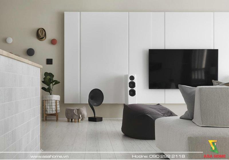 Thiết kế căn hộ hiện đại ASA 009