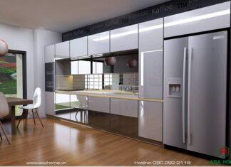 Những mẫu tủ bếp nhôm hệ thống cao cấp đẹp nhất năm 2021